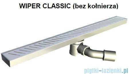 Wiper Odpływ liniowy Classic Pure 80cm bez kołnierza poler PU800PCS100