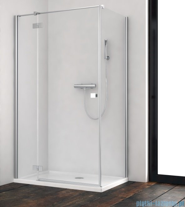 Radaway Essenza New Kdj kabina 90x100cm lewa szkło przejrzyste 385044-01-01L/384052-01-01
