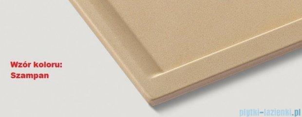 Blanco Zenar 45 S Zlewozmywak Silgranit PuraDur  prawy  kolor: szampan   z kor. aut. i akcesoriami  519257