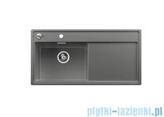 Blanco Zenar XL 6 S-F  Zlewozmywak Silgranit PuraDur komora lewa kolor: alumetalik  z kor. aut. i szklaną deską do krojenia 519200
