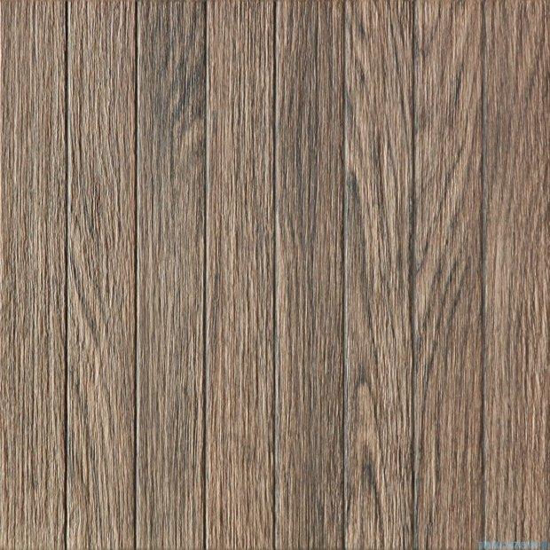Tubądzin Biloba brown płytka podłogowa 45x45