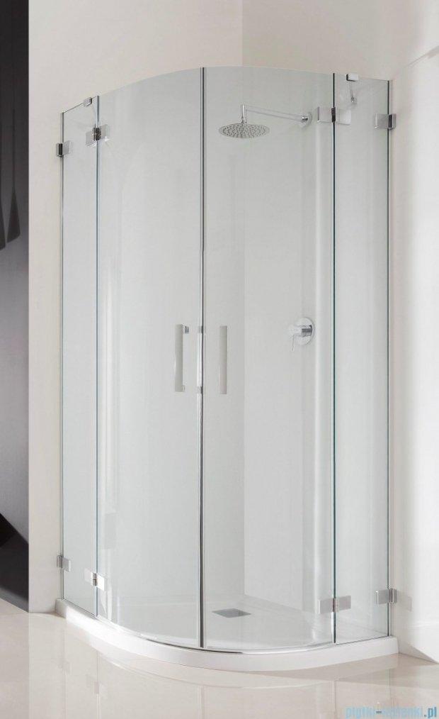 Radaway Euphoria PDD E Kabina prysznicowa 80x90 szkło przejrzyste 383002-01L/383001-01R