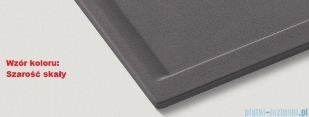 Blanco Cron 6 S zlewozmywak Silgranit PuraDur  kolor: szarość skały  z k. aut. z odsączarką tworzywo szt. 518845