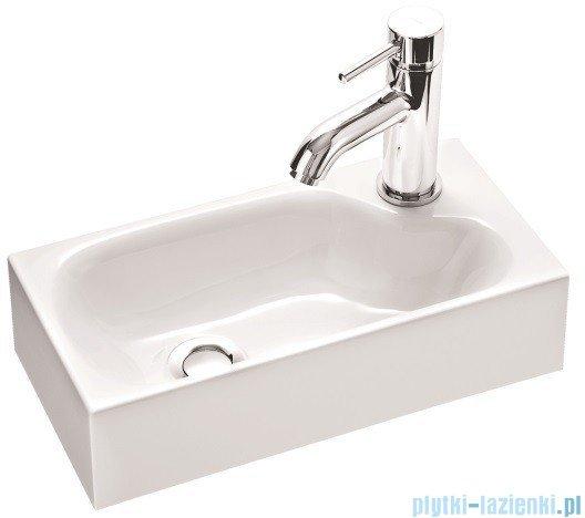Marmorin umywalka nablatowa Elara 4 bez otworu 40cm biała 420040020010
