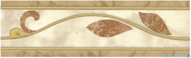 Kwadro Yasmina beige listwa 7,6x25