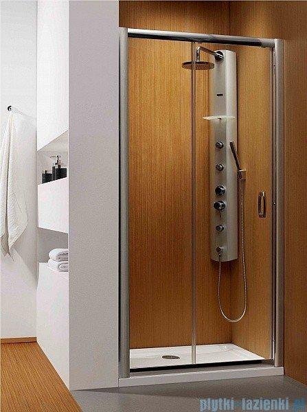 Radaway Premium Plus DWJ Drzwi wnękowe 120 szkło brązowe 33313-01-08N