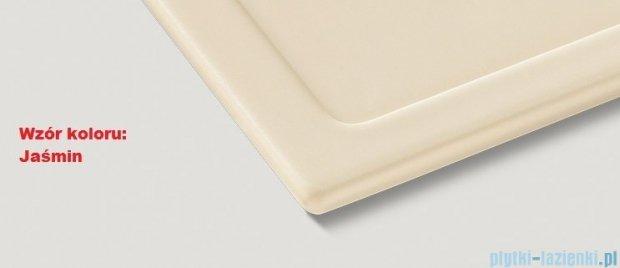 Blanco Subline 350/150-U Komora podwieszana ceramiczna kolor: jaśmin z kor. aut.  514527