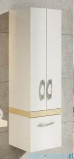 Aquaform Merida szafka wysoka biała/legno 0415-293051