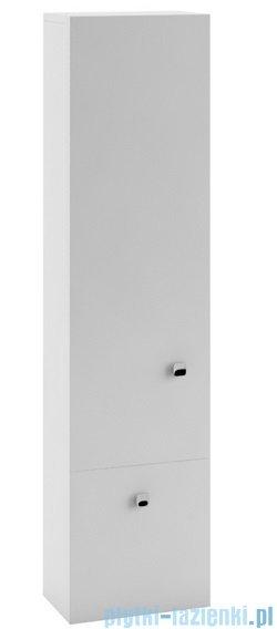 Aquaform Flex szafka wisząca wysoka z szuflada biała 0410-640107