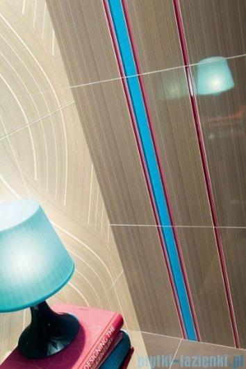 Tubądzin Helium latte listwa ścienna 7,4x59,8