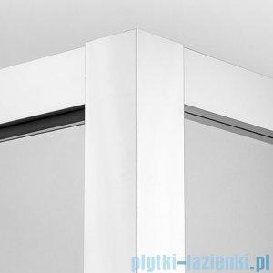 New Trendy kabina prysznicowa Lumina 90x90cm przejrzyste-lustro EXK-1116/EXK-1117