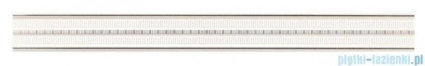 Tubądzin Abisso white listwa ścienna 7,2x74,8