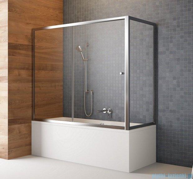 Radaway Vesta Dwj+s parawan nawannowy 180x80cm szkło fabric 209118-01-06/204080-06