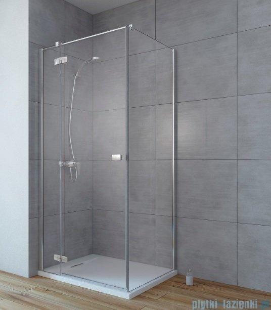 Radaway Fuenta New Kdj kabina 90x100cm lewa szkło przejrzyste 384044-01-01L/384052-01-01
