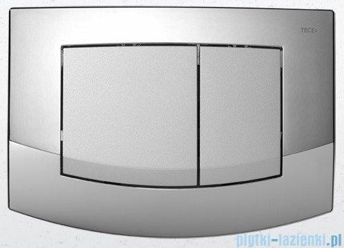 Tece Przycisk spłukujący do WC Teceambia ramka-chrom połysk,przyciski-chrom matowy 9.240.254