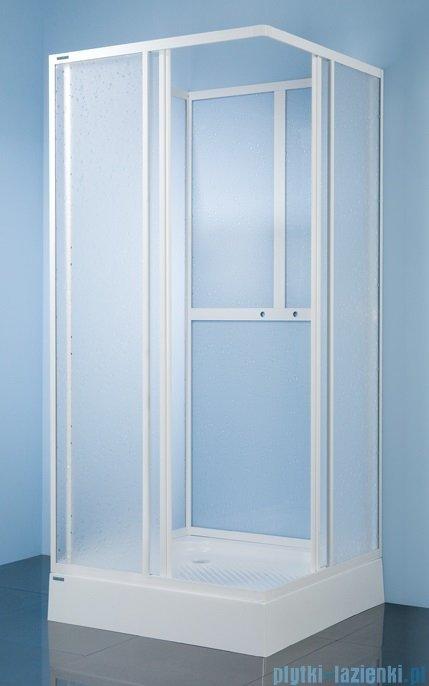 Sanplast kabina czterościenna kwadratowa KC/Dr-c-90 szkło: Sitodruk W4 600-013-1230-01-410