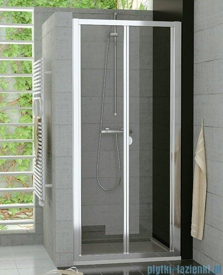 SanSwiss Top-Line Drzwi 2-częściowe 75cm profil połysk TOPK07505007