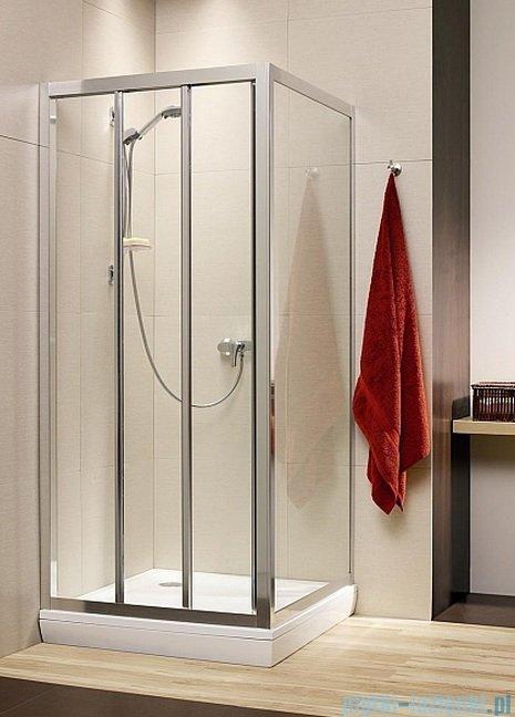 Radaway Treviso DW+S kabina 80x75 szkło brązowe 32313-01-08N/32433-01-08N