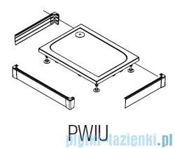 SanSwiss PWIU Obudowa brodzika 3-stronna 70x90cm połysk PWIU700907050