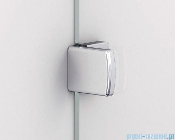 Sanswiss Melia ME13 Drzwi ze ścianką w linii z uchwytami lewe do 160cm przejrzyste ME13WGSM21007