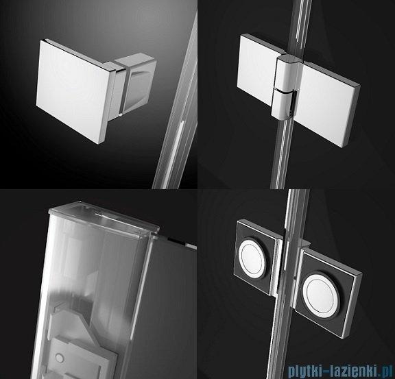Radaway Essenza New Dwj drzwi wnękowe 80cm prawe szkło przejrzyste 385012-01-01R
