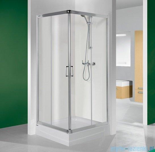 Sanplast kabina narożna kwadratowa KN/TX4-90 szkło przezroczyste 600-271-0030-38-400