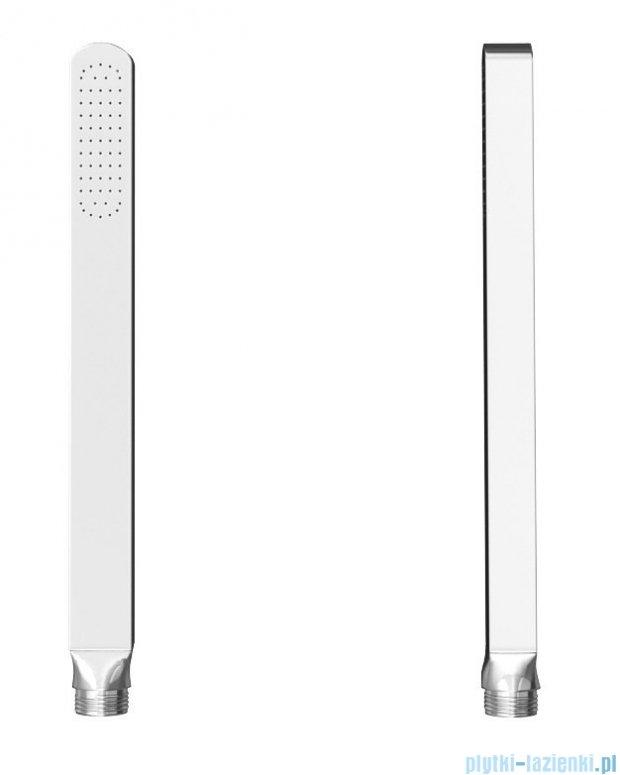 Kohlman Saxo zestaw wannowo-prysznicowy chrom QW211SQ35-007
