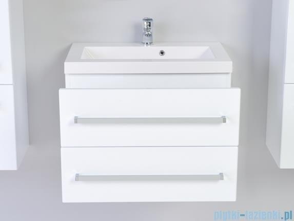 Antado Variete Szafka podumywalkowa wisząca z dwiema szufladami 60x39x40 biały połysk FM-C-442/6/2