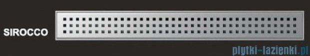 Wiper Odpływ liniowy Premium Sirocco 120cm z kołnierzem mat S12000MPS100