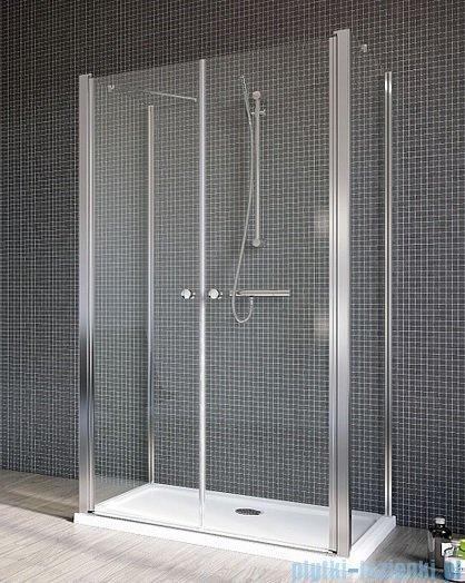 Radaway Eos II DWD+2S Drzwi prysznicowe 120x197 szkło przejrzyste 3799404-01