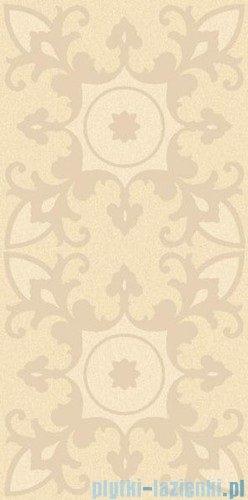 Paradyż Sabro beige geometryk inserto ścienne 29,5x59,5