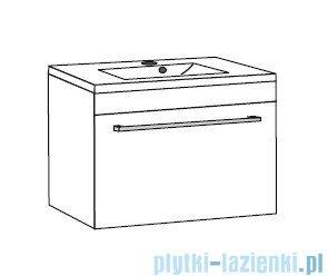 Antado Variete ceramic szafka z umywalką ceramiczną 72x43x40 wenge FDM-AT-442/75+UCS-AT-75