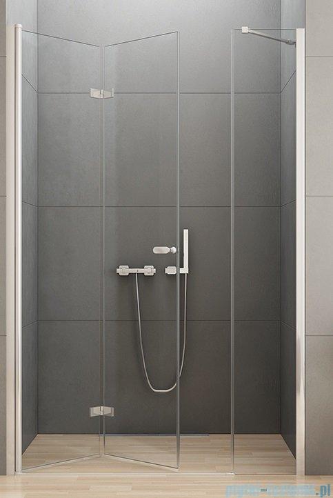 New Trendy New Soleo Plus Drzwi Wnękowe Bifold 130x195 Cm Przejrzyste Lewe D 0150ad 0094b