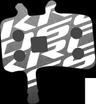 KROSS BP-DSM-4 KLOCKI HAMULCOWE AVID JUICY X