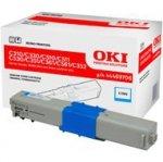 Toner Oki do C310/330/C510/511/530/351/361/561/352/361/362 | 2 000 str. | cyan