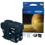 Zestaw tuszy Brother LC-1100BK | 2 x 450 str. | black