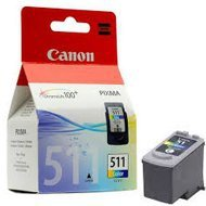 Tusz Canon CL511 do iP2700 MP-240/260/270, MX-360 | 9ml | CMY