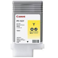 Tusz Canon PFI-102Y do IPF-500/600/700/710/720/750 | 130ml | yellow