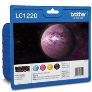 Zestaw tuszy Brother LC1220 (4 x 300str.) DCP-J525W CMYK oryginał