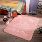 Kocyk Piel - Baby Safari 80x110 cm - różowy
