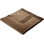 Narzuta na fotele i kanapy - MOCA DESIGN - brązowa
