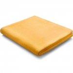 Koc Biederlack 100% bawełna - Pure Cotton - żółty