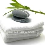Ręcznik Hotelowy Biały - 50x100 cm