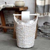 Kosz na papier toaletowy Chic Antique - biały