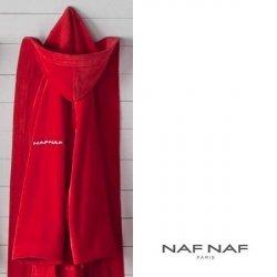 Szlafrok NAF NAF - Unisex - czerwony