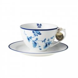 Laura Ashley BLUEPRINT - filiżanka do cappuccino 250 ml - CHINA ROSE