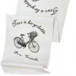 Bieżnik French Home - Bicyclette L - biały