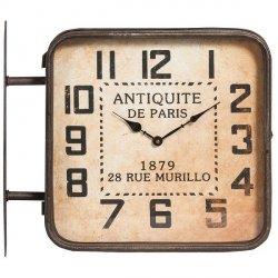 Zegar Belldeco Vintage - De Paris dwustronny - 46 cm