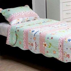Narzuta + poszewka na poduszkę - BALLERINA