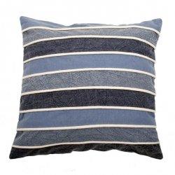 Poduszka dekoracyjna - VINTAGE DENIM - Stripes